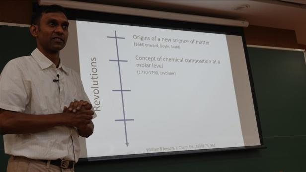 Science Talk - Story of Chemistry talk by Anirban Hazra