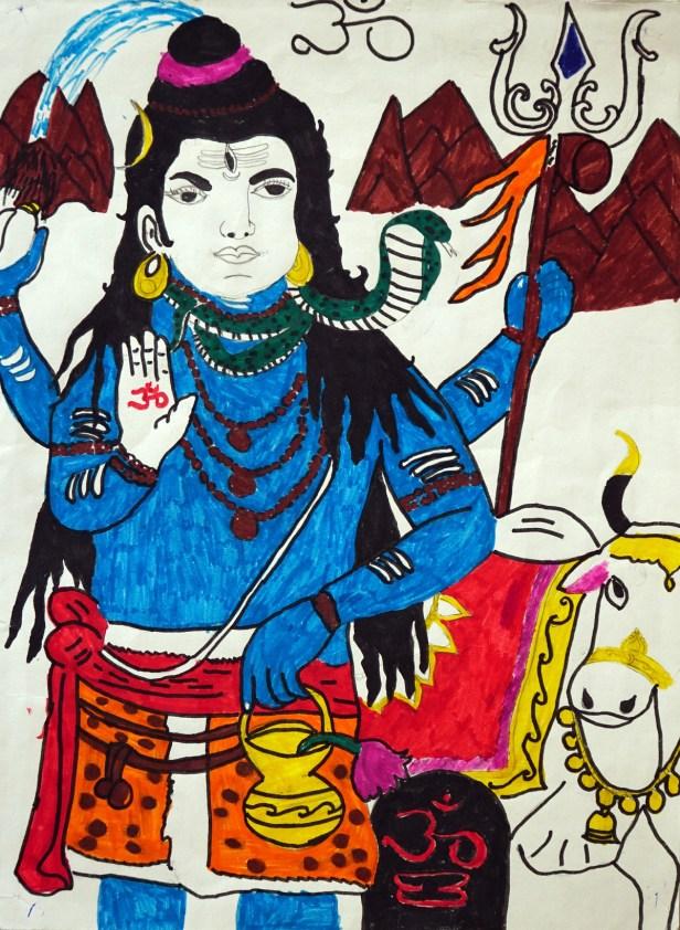 Painting by Jobanpreet from Punjab