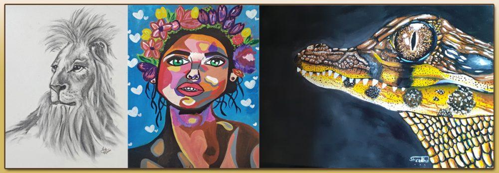 Art project during coronavirus pandemic - Day 4 of national lockdown