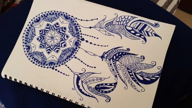 Mandala Dream Catcher by Dhanashree Gholap