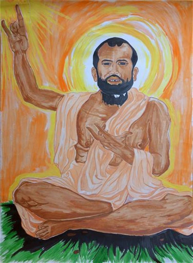 Painting by Lebaiso Chaitam (13 years), Vivekananda Kendra Vidyalaya, Arunanchal Pradesh