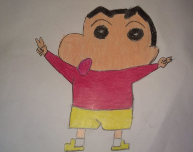 Artwork by Ruchit Daga (class 4), Guwahati,Assam