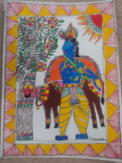 Artwork by Kaustubh Chemuturi - Special Mention in national art competition in U.S.