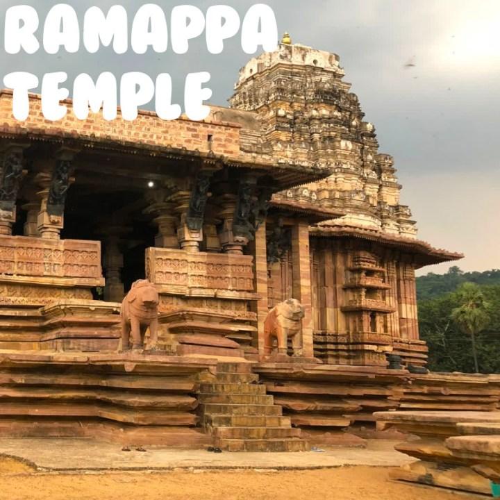 Hyderabad weekend getaway road trip ramappa temple