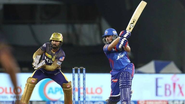 IPL 2021, DC vs KKR: Prithvi Shaw becomes second player to smash six fours in same over; Shivam Mavi creates unwanted record | Cricket News