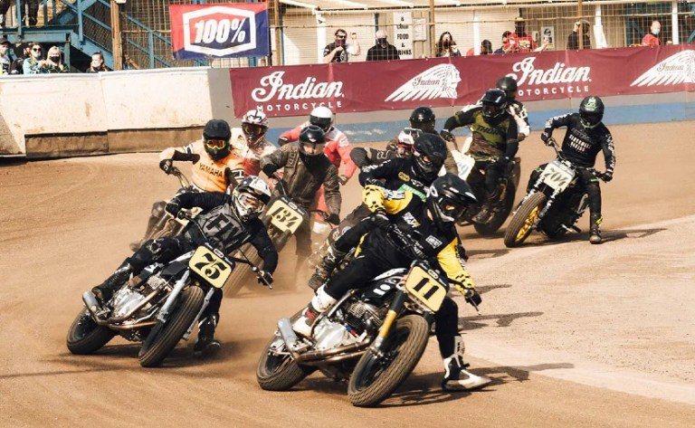 Royal Enfield Takes First Place At UK Flat Track 2021