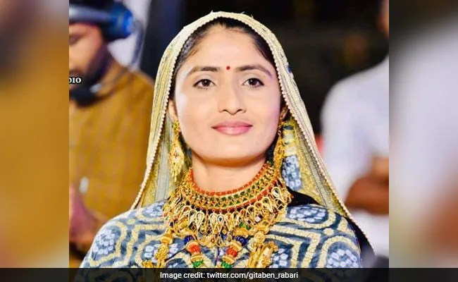 Controversy Amid Claims That Gujarat Singer Geeta Rabari Was Vaccinated At Home