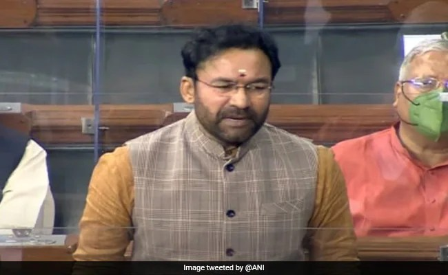 Union Minister G Kishan Reddy Says Pakistan Role Cannot Be Denied