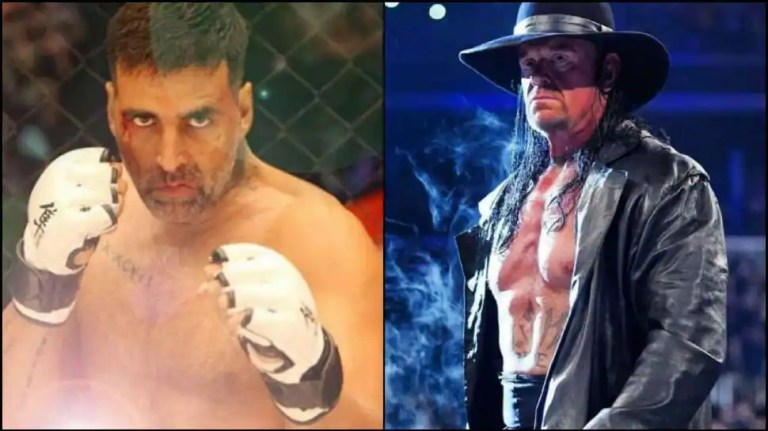 WWE icon The Undertaker challenges Akshay Kumar for a 'real rematch', Bollywood actor responds – check out   Other Sports News