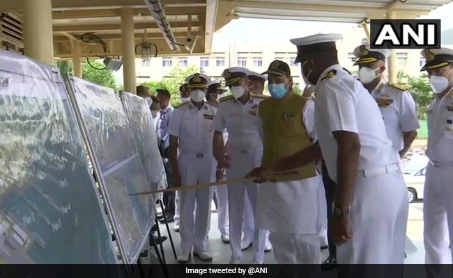 India Should Aim To Be Among World's Top 3 Naval Powers In 10-12 Years: Rajnath Singh
