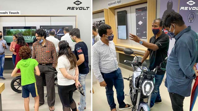 Revolt Electric Motorcycle Demand Post Price Cut