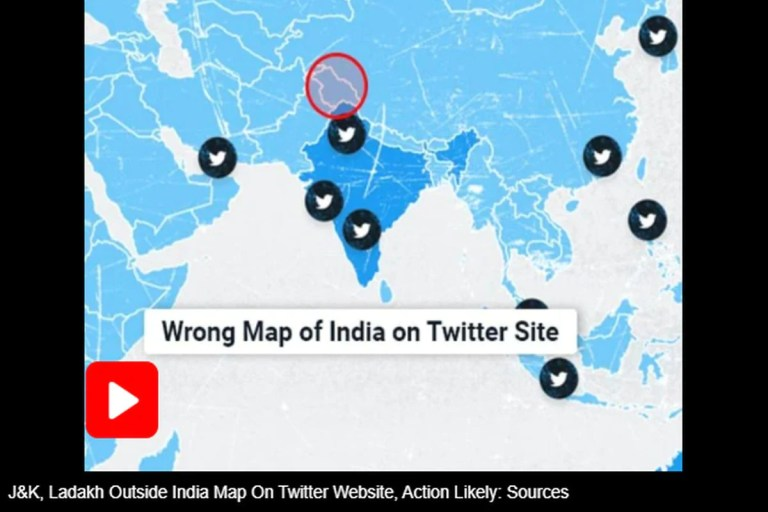 Twitter Removes Distorted Map Displaying Jammu and Kashmir, Ladakh Outside India