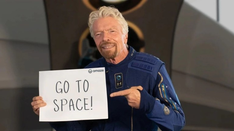 Virgin Galactic Restarting Space Tickets from $450,000 After Flying Founder Richard Branson