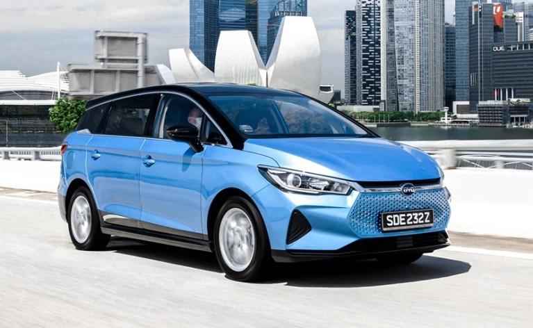 BYD India Plans To Launch Electric MPV For The B2B Segment Soon