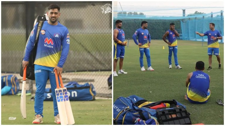 IPL 2021: MS Dhoni's Chennai Super Kings enjoy first training session in UAE – see photos | Cricket News