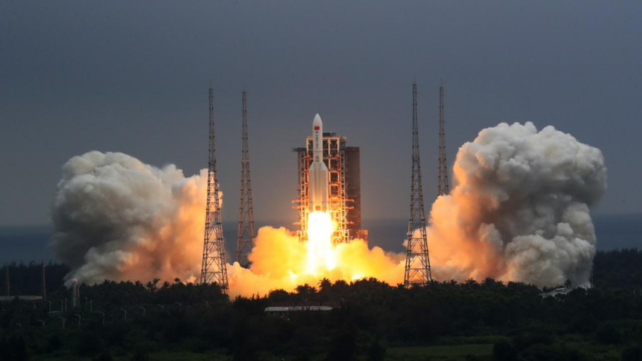 China's out-of-control rocket set for Earth re-entry today