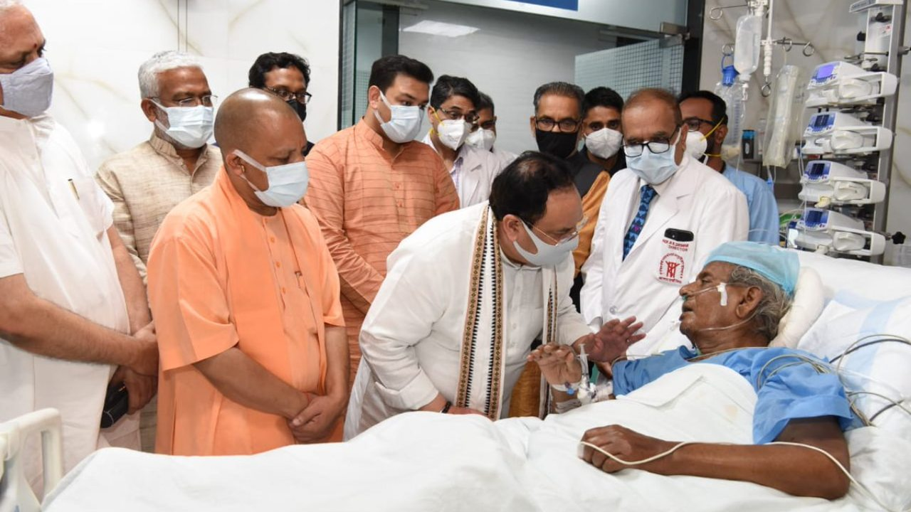 PM Modi Prays for Speedy Recovery After Nadda Visits Ailing Leader Kalyan Singh at Lucknow Hospital