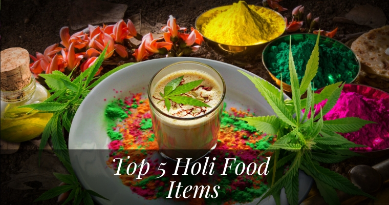 Top 5 Holi Food Items. India Canteen