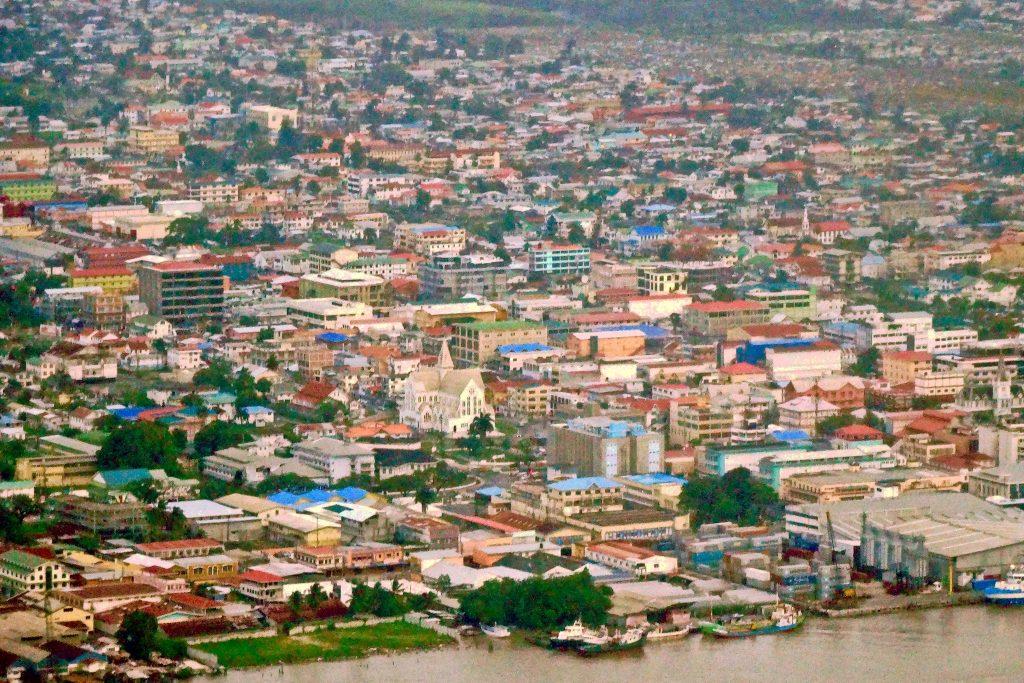 Downtown Georgetown, Guyana