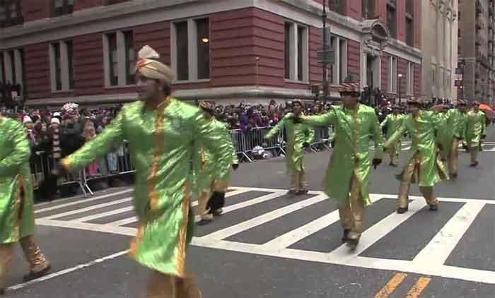 Bollywood at Macy's Thanksgiving Parade