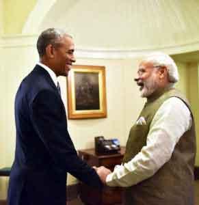 Reception for Prime Minister Modi of India