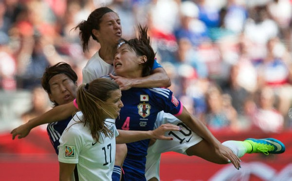 FIFA President Sunil Gulati Smiles Ear to Ear As US Women's Team Wins World Cup.