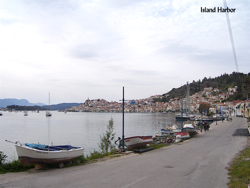 Poros Island, Greece: The Silent In-between