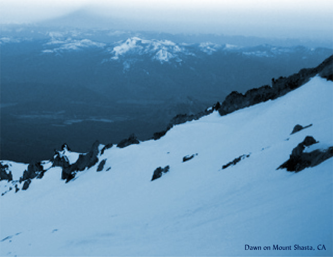 Saved on Mount Shasta
