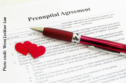 The Prenuptial Agreement