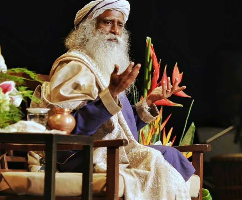 Sadhguru's Book Launch