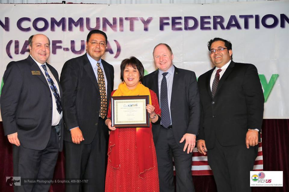 California Assembly Recognizes IACF's Unity Dinner