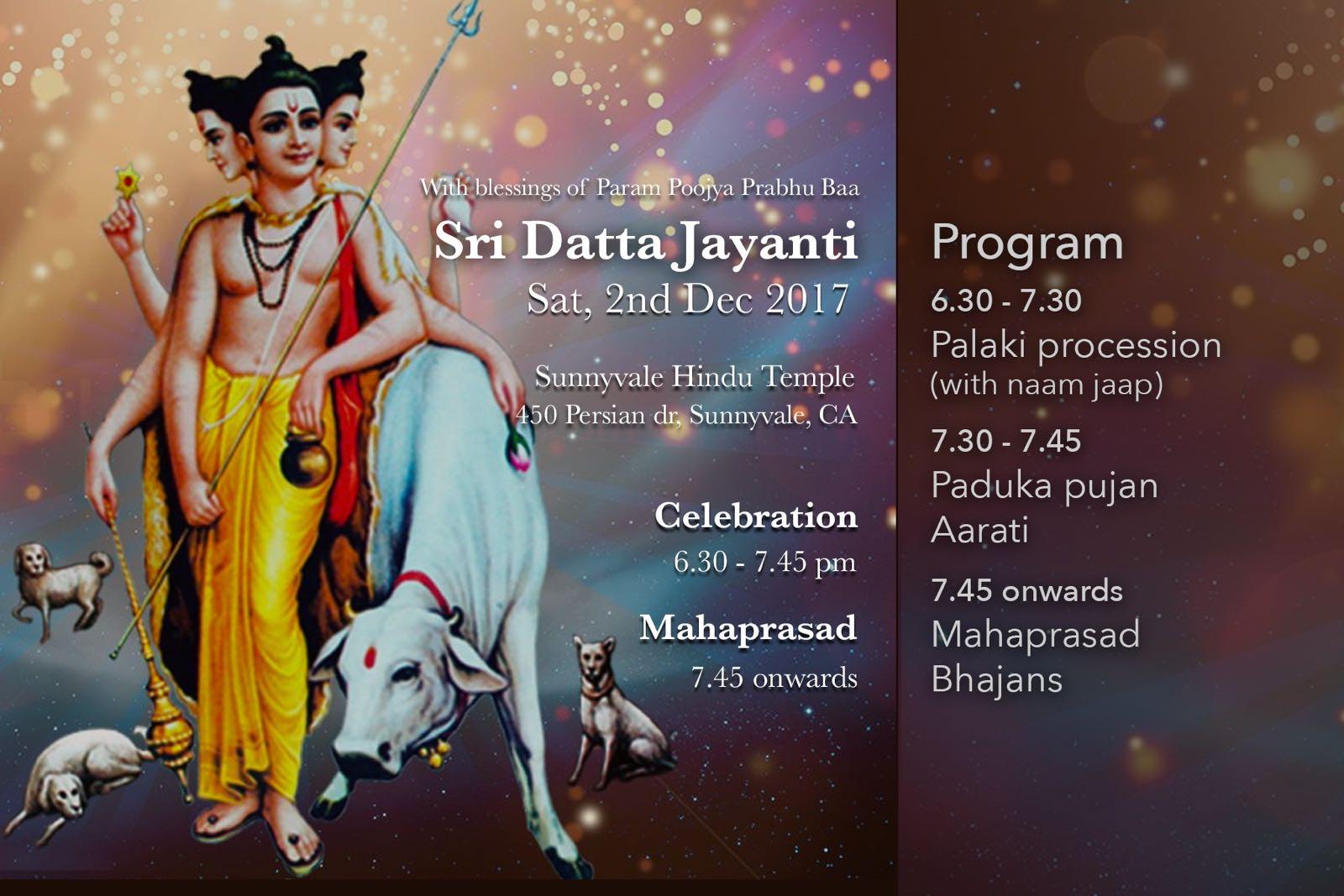 Shree Datta Jayanti Celebration