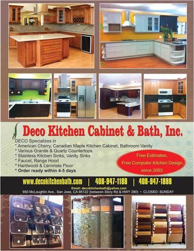 Deco Kitchen Cabinet Bath Best Indian American Magazine San Jose Ca India Currents
