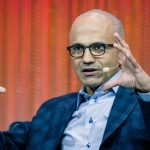 "Satya Nadella: ""The moment that forever changed our lives."""