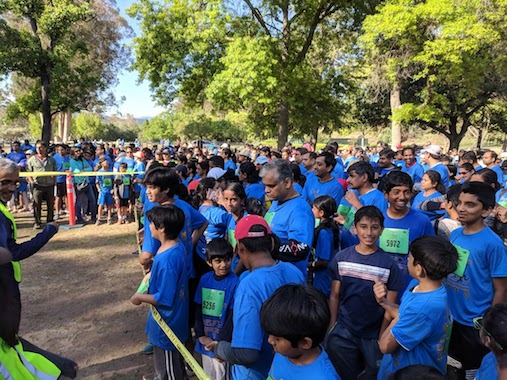 Walkathon/ 5k, 10K run and Half Marathon Om Run
