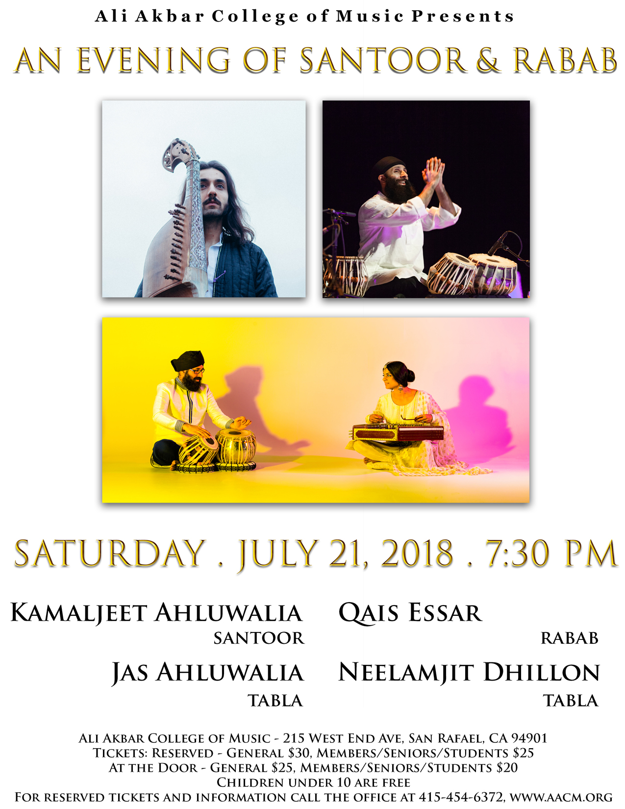 An Evening of Santoor & Rabab