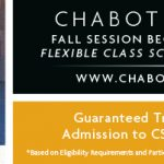 Chabot College: Sign Up for Fall Classes