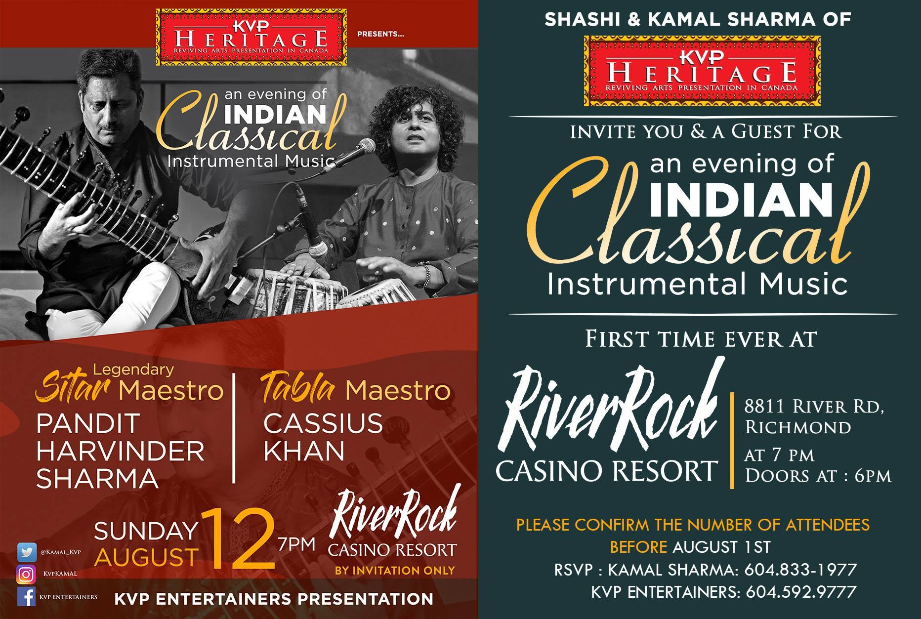 Pandit Harvinder Sharma & Cassius Khan