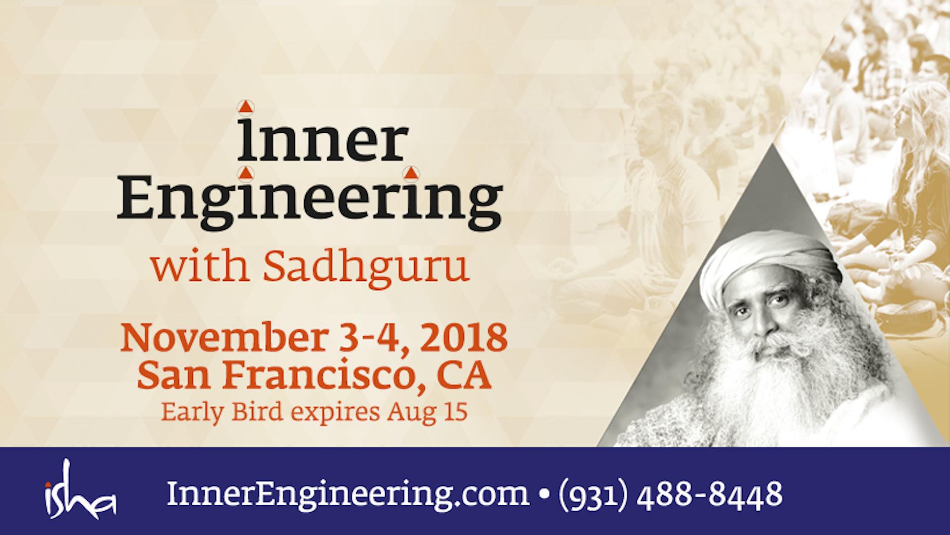 Inner Engineering with Sadhguru