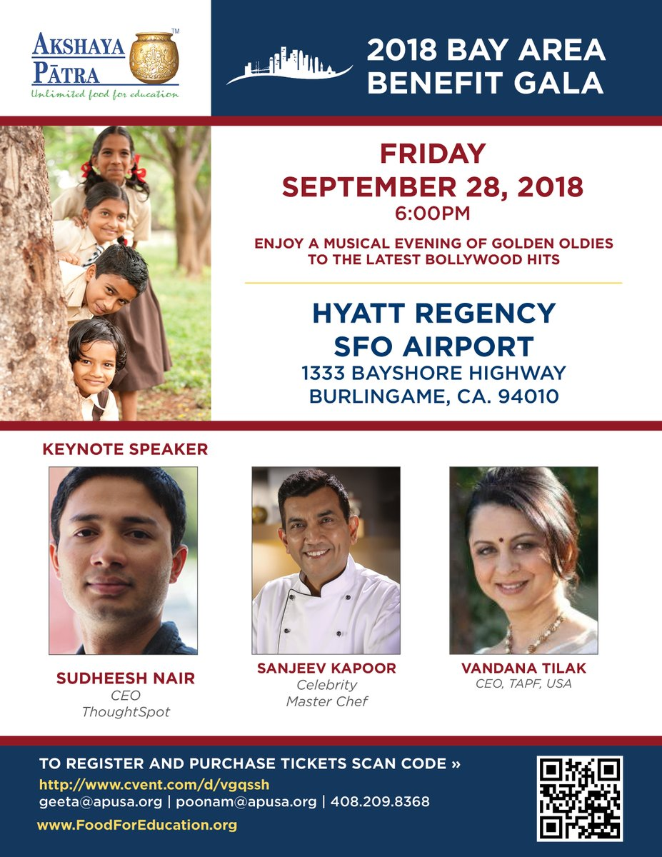 Akshaya Patra - 2018 Bay Area Benefit Gala
