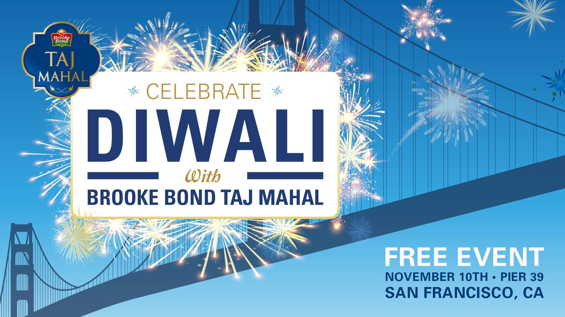 Celebrate Diwali with Brooke Bond Taj Mahal