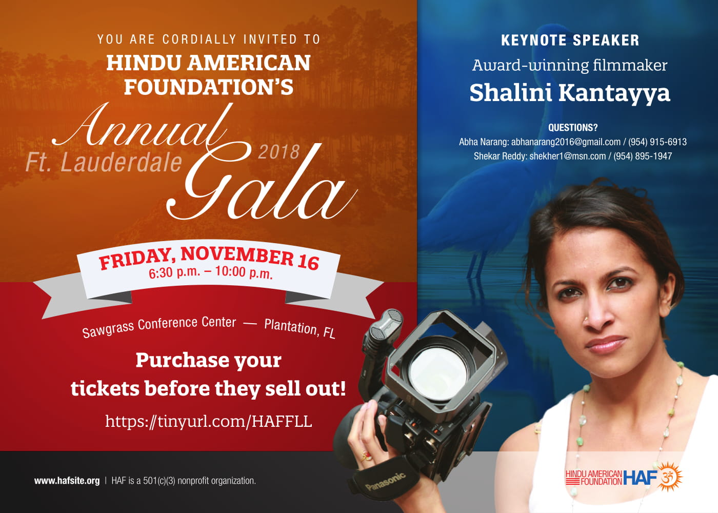 Hindu American Foundation's Annual Ft. Lauderdale Gala