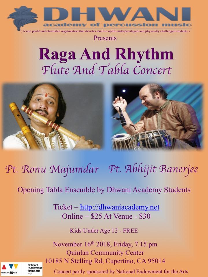Raga and Rhythm  - a flute and tabla concert