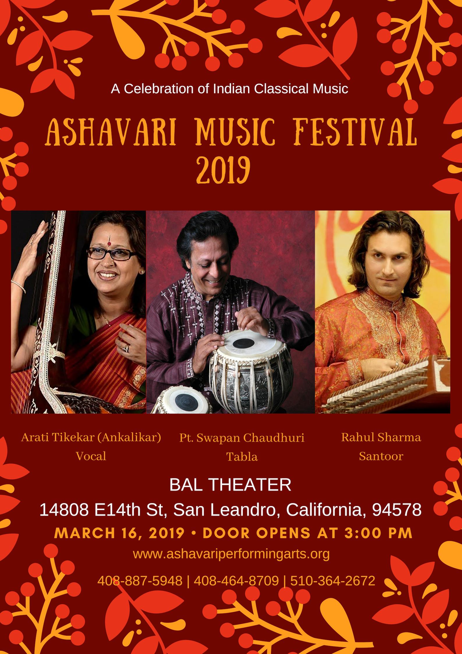 Ashavari Music Festival 2019