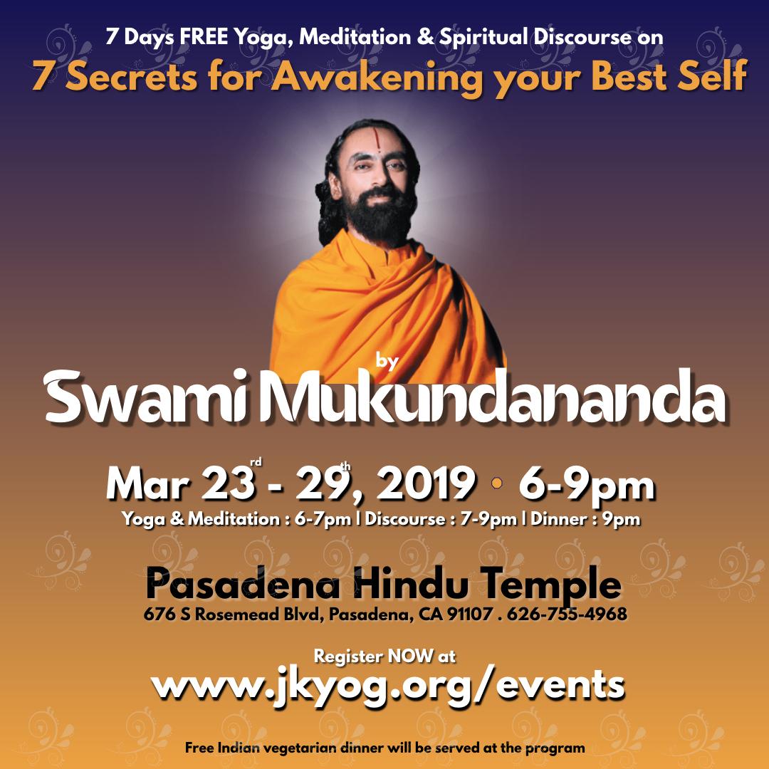 Spiritual Discourse by Swami Mukundananda
