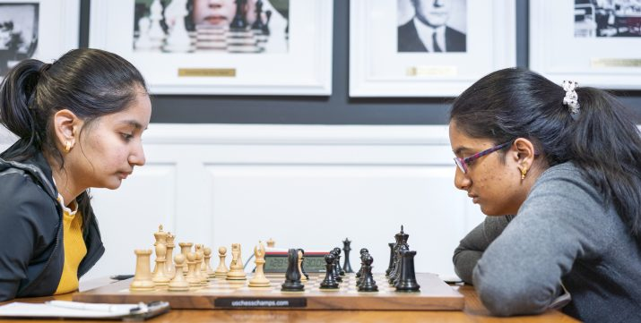 Ashritha Eswaran At US National Chess Championship