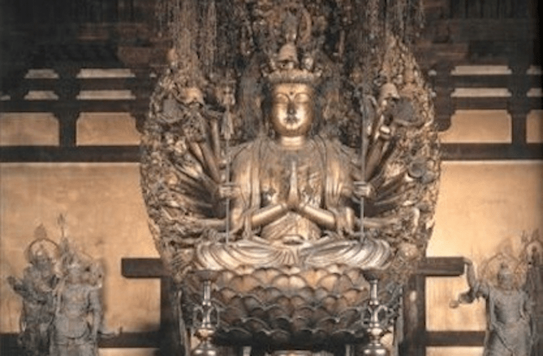 Harmonious blend of Hinduism, Buddhism, Shinto strains in Japan