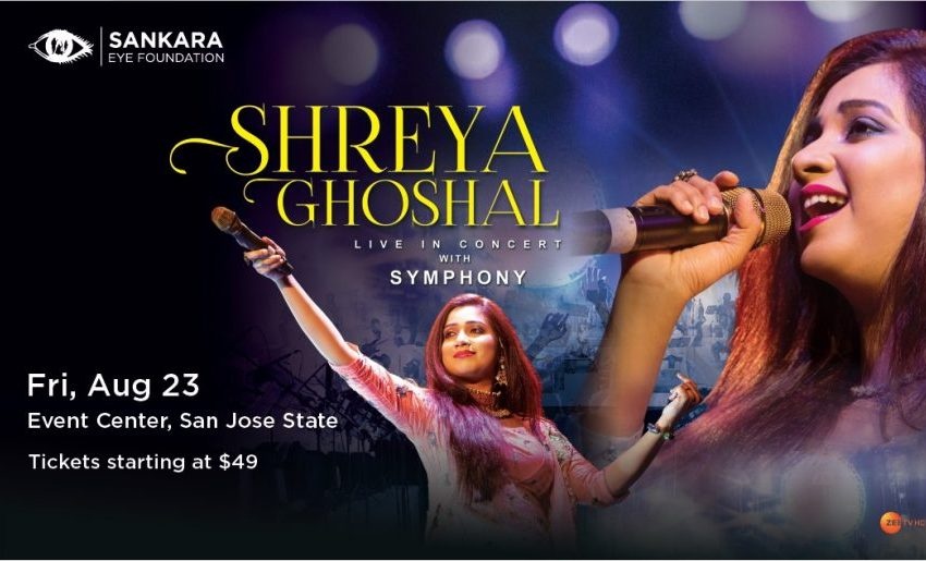 Shreya Goshal Live in Concert for SEF!