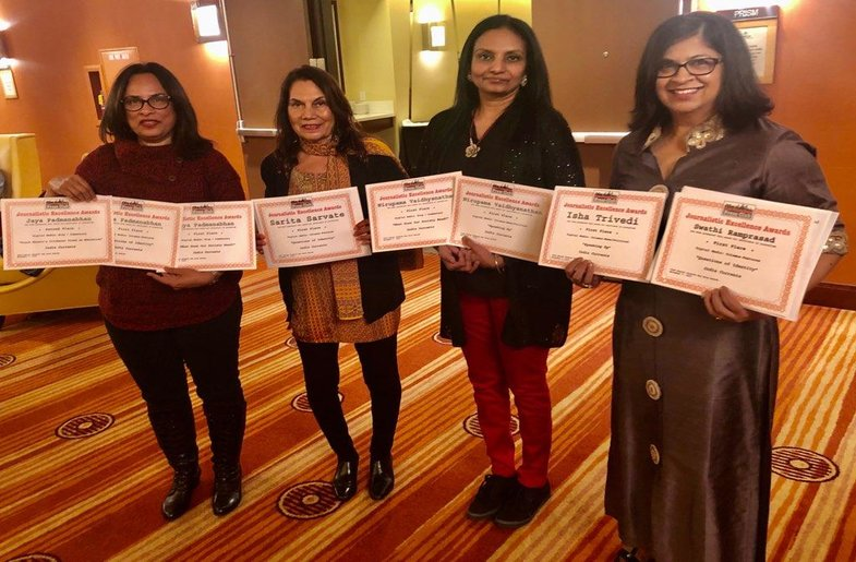 India Currents Wins 8 Awards from the SF Press Club!