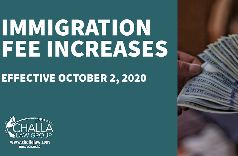 Immigration Fees Increase Can Affect You